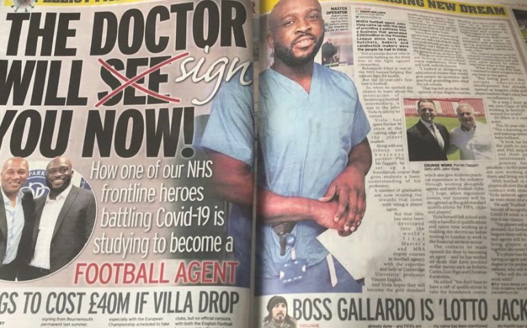 frontline-workers-nhs-football-agent